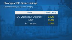 B.C. Leaders debate debrief: Will Sonia Furstenau's strong performance give the Green Party a boost? (01:13)