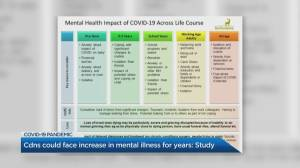Canadians could face increase in mental illness for years: Study