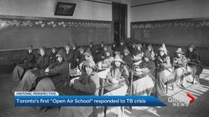 Toronto's first 'open-air school' responded to health crises a century ago (01:58)