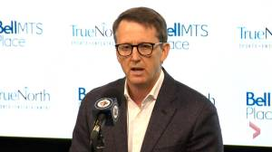 Winnipeg Jets owner Mark Chipman talks about suspension of NHL season