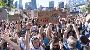 Students highlight huge day of protests during global climate strike