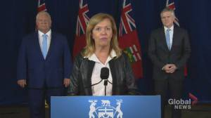 Coronavirus: Christine Elliott appeals to young people experiencing 'COVID fatigue' (00:48)