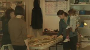 Family art day in Peterborough (01:30)