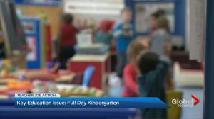 Protecting full day kindergarten top priority for Ontario educators