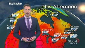 Saskatchewan weather outlook: July 28 (03:03)