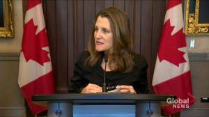 First confidence vote on new NAFTA passes as debate on second reading commences: Freeland