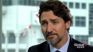 Flight 752 victims were collateral damage says Trudeau in interview exclusive (FULL INTERVIEW) (18:08)