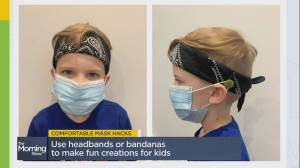 Comfortable and stylish mask hacks
