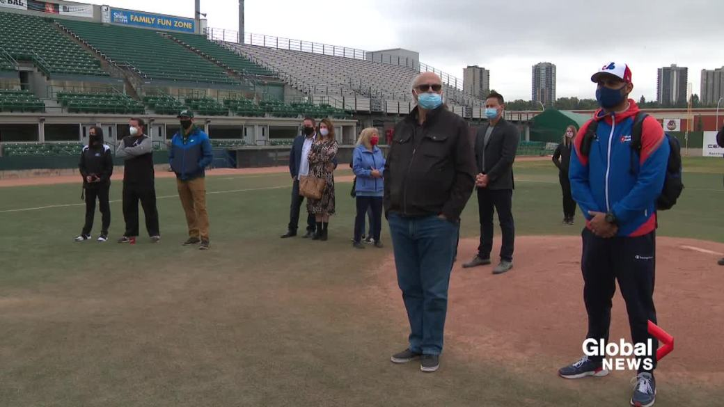 Click to play video: 'Edmonton Riverhawks bringing baseball back to the river valley'