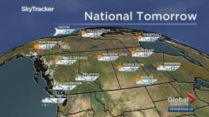 Edmonton weather forecast: Saturday, Jan. 11