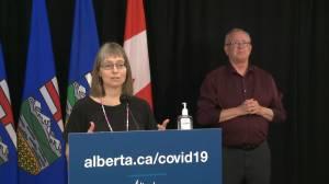 Alberta identifies 296 new COVID-19 cases on Thursday (01:10)