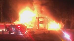 Kelowna home levelled in second blaze