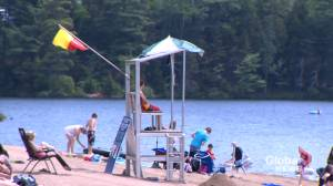 New Brunswickers feeling the heat amid high temperatures (01:45)