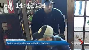 Video appears to show brazen wallet theft at Markham restaurant