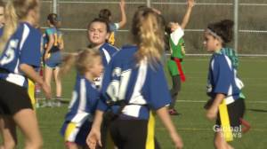 Elementary students look to capture the flag and become top school in rugby