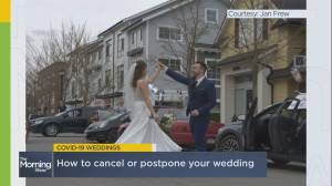 What happens to weddings during the COVID-19 outbreak?