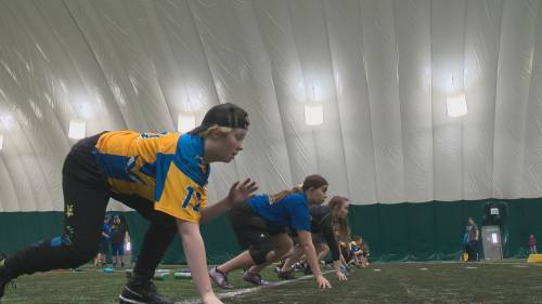 Edmonton's all female tackle football division expands with the addition of a new team | Watch News Videos Online