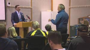 Alberta Justice Minister visits Leduc on rural crime tour
