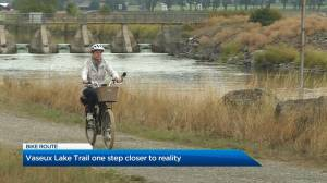 Vaseux Lake Trail one step closer to reality in South Okanagan (01:35)