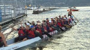 Kelowna Dragon Boat Club trains hard for 55+ BC Games