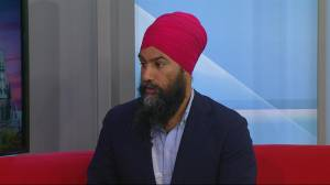 NDP Leader Jagmeet Singh discusses racism, health and climate change
