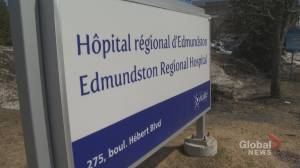 Edmundston area moves back to orange phase of COVID-19 recovery (01:28)