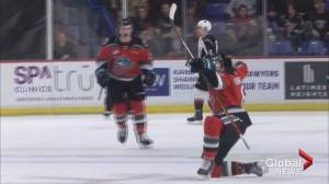 Kelowna Rockets beat Vancouver Giants 3-2 in overtime (02:14)