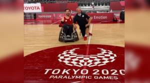 Peterborough's Cody Caldwell competing in second Paralympics as a member of Canada's wheelchair rugby team (01:50)