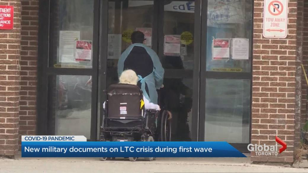 Click to play video: 'Long-term care residents also died from non-COVID causes, new military documents reveal'