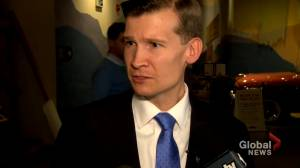 Jeromy Farkas asks Calgarians to 'come together' after losing election (01:26)