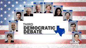 Democratic presidential hopefuls get set for debate