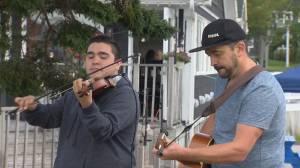 Global News morning in Baddeck: Morgan Toney and Keith Mullins perform (05:50)