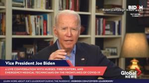 Coronavirus outbreak: Biden calls out 'false choice' between economy and health