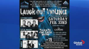 Laugh Out Violence fundraiser for non-profit youth program