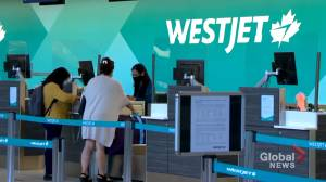 WestJet, partners agree restart of travel and tourism essential for economic recovery (01:46)