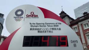 Only 479 days to go: Tokyo resets the clock on Olympics