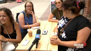 Saint John closes streets to traffic and opens them to shoppers and diners