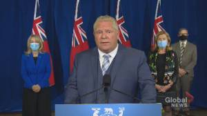 Coronavirus: Ontario to restrict visitors to certain long-term care homes beginning Oct. 5.