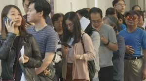 Record turnout in Hong Kong election