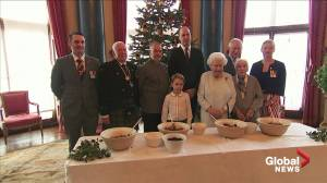 Royal Family bakes holiday goodies for charity