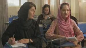 Afghan women fear losing their careers under Taliban rule (02:35)