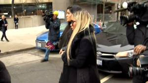 Toronto 'Chair Girl' makes court appearance for sentencing hearing
