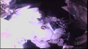 NASA astronauts complete 'first ever' spacewalk to repair cosmic ray detector