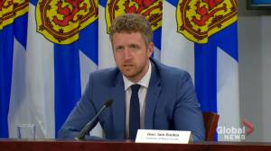 N.S. premier reminding people to follow public health restrictions (01:48)