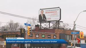 Leaside real estate agent target of violent threats