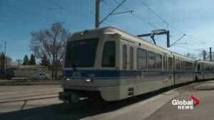 Edmonton once again increasing safety and security measures on public transit (01:28)