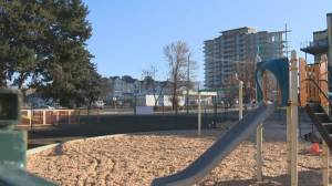 Play structure near supportive housing causes concerns in Kelowna neighbourhood (01:06)
