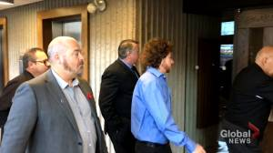 Nova Scotia jury deliberates in case of constables charged in jail cell death