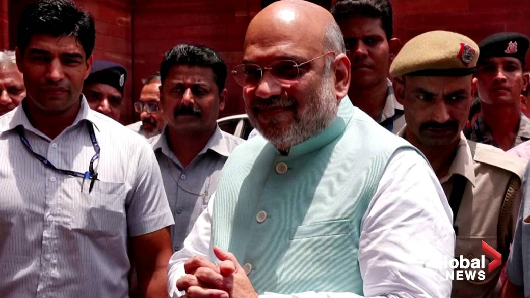 Click to play video 'Coronavirus: India's interior minister hospitalized with COVID-19'