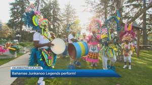 Watch: Bahamas Junkanoo Legends and friends celebrate culture with electrifying performance (03:53)